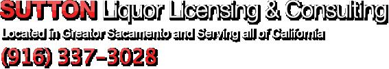 California Liquor Licensing Consultant